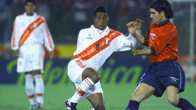 Chile y Perú en Clasificatorias a Corea/Japón 2002, 26 de abril de 2000