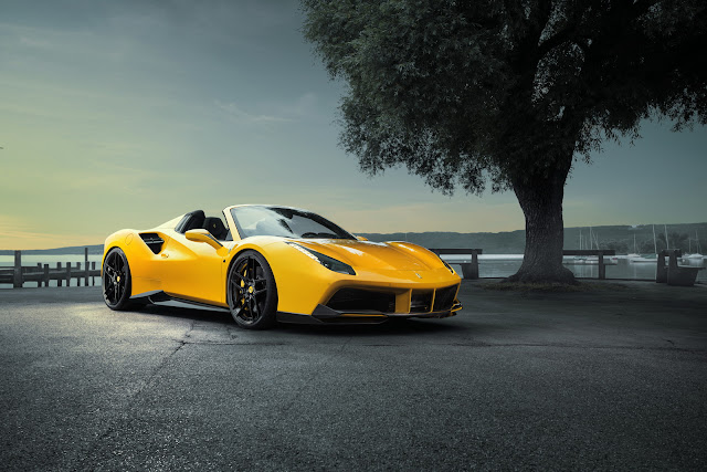 Novitec Rosso Spices Up The Ferrari 488 Spider To The Tune Of 772 HP