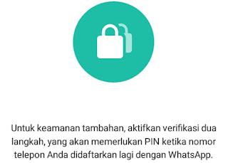 Cara Mudah Mengaktifkan Verifikasi 2 Langkah Pada Whatsapp (WA)