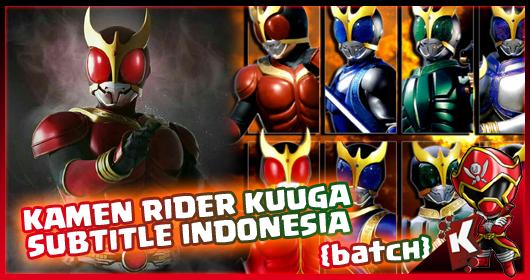 Kamen Rider Kuuga Subtitle Indonesia [Batch] Eps  01-51