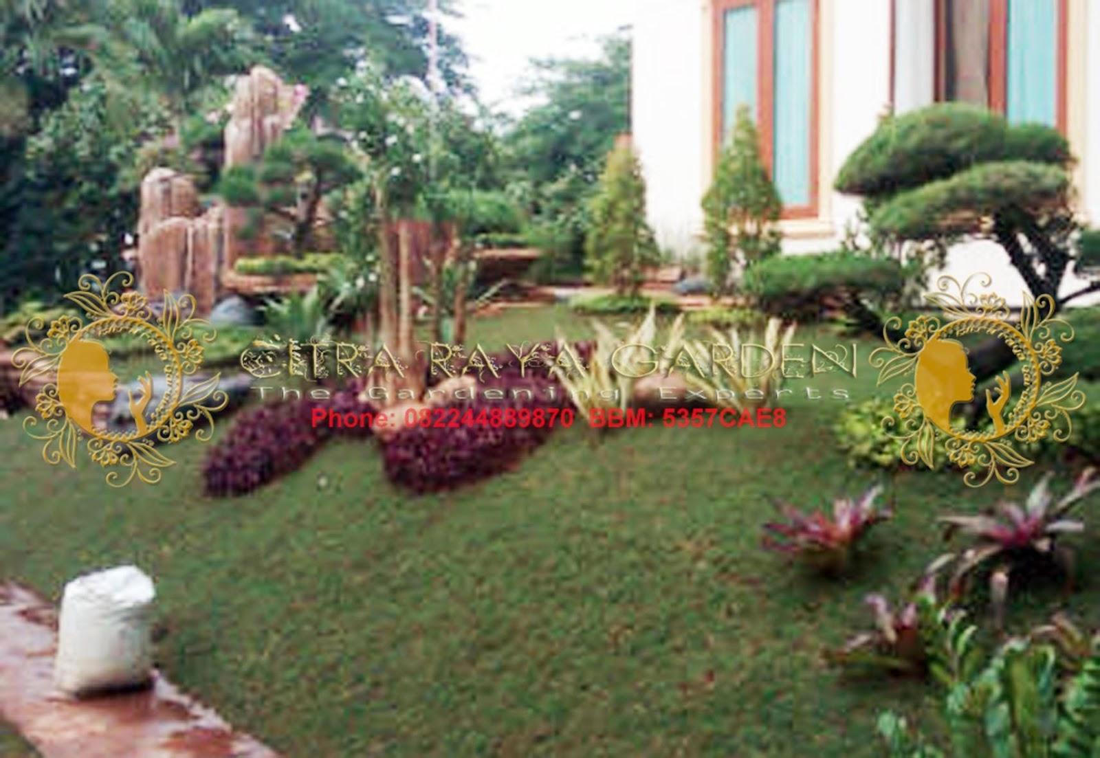 Desain Taman Jepang Citra Raya Garden