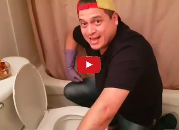 Comediante venezolano le dice a Maduro cuánto gana lavando pocetas
