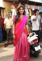 Anjali Latest Glamorous Photo Shoot in Halfsaree HeyAndhra