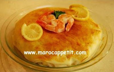 Pastilla aux fruits de mer | Seafood pastilla