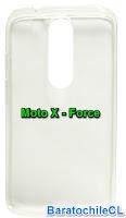 Carcasa Gel Motorola X Force