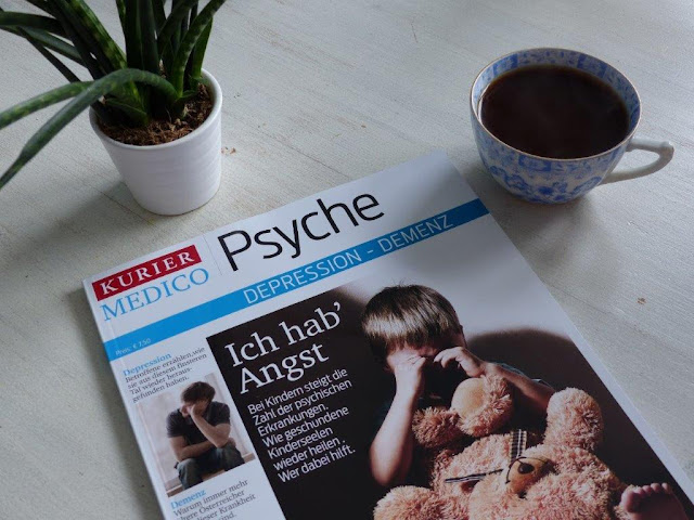 Kurier Magazin Medico Psyche Depression Bloggerin Artikel