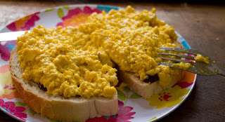 Superb scrambled eggs