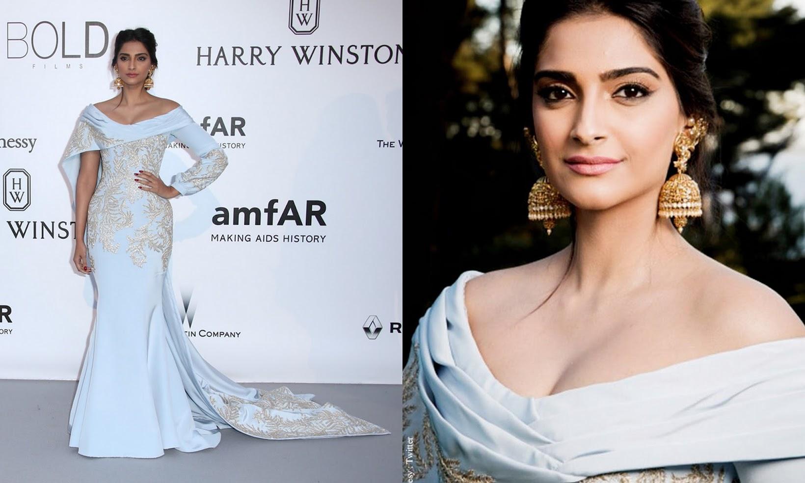 Aishwarya Rai Bachchan & Sonam Kapoor at Cannes 2016