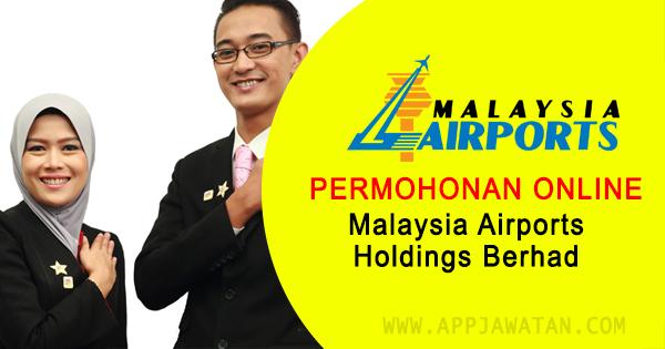 Jawatan Kosong di Malaysia Airports Holdings Berhad (MHAB) - 28 Februari 2019