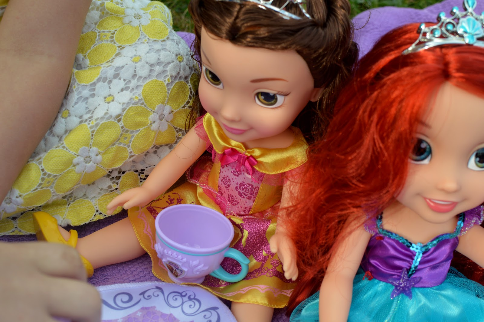 , Time for Tea with Jakks Disney Princess Toddler Dolls