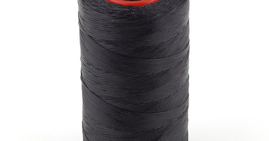 50pcs ((Hitam) Benang Jahit Dolphin 250M / Sewing Thread