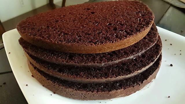 كيفية اعداد كيكة الشوكولاته