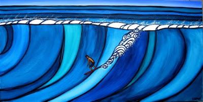 Heather Brown: surf art con energía positiva