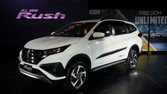Harga All New Toyota Rush 2018 surabaya