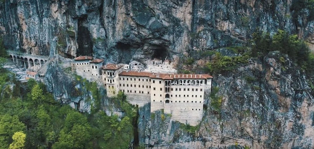 sumela monastery at Turkey