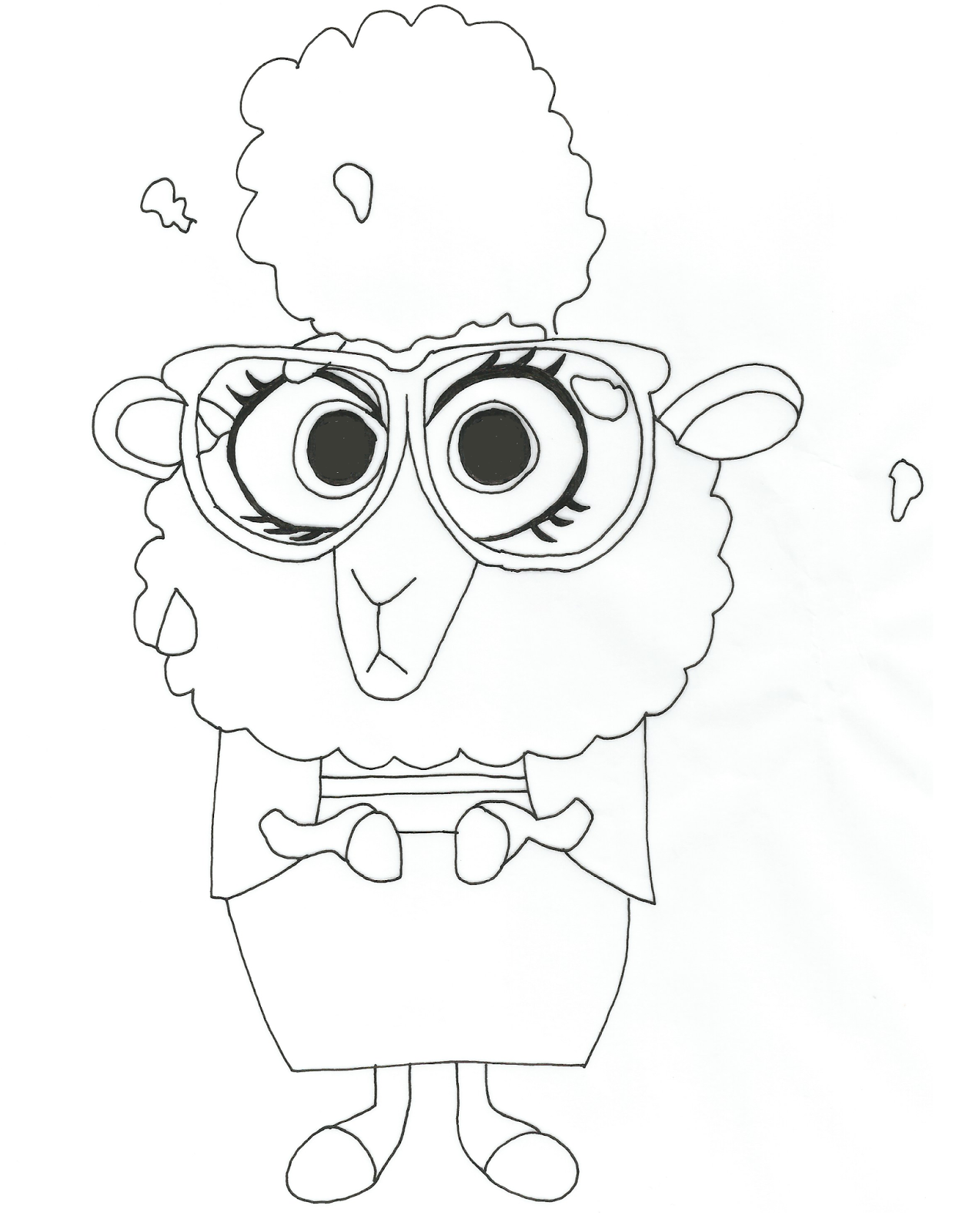 Free Printable Zootopia Coloring Pages Bellwether Free Printable Zootopia Coloring Page