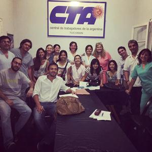 Junta Promotora del GOA-CTA en Tucumán