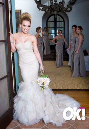 03ae0cf7799d If you want to make this dramatic statement on your wedding day, go for an  equally show stopping gown like the gowns below from Wtoo & Rina diMontella.