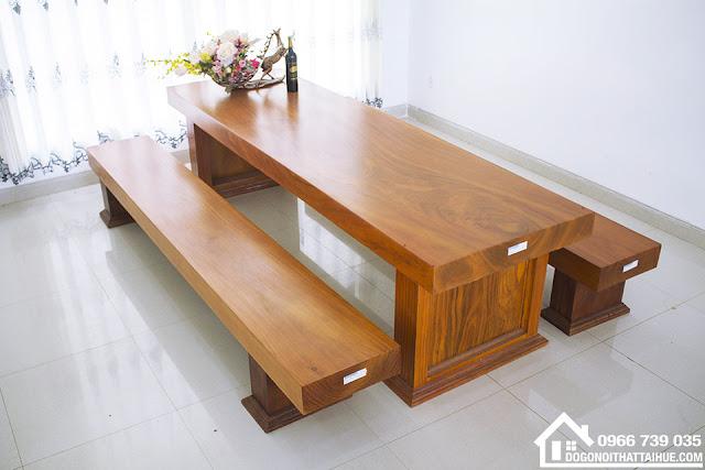 Bộ bàn ghế ba tấm gỗ gõ đỏ, Bo ban ghe ba tam go go do nguyen khoi, Ban ba tam nguyen khoi da nang, ban ba tam nguyen khoi Hue