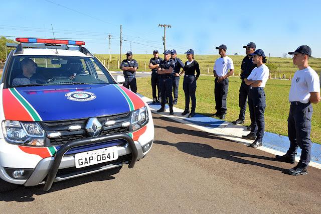 GCM de Limeira oferece treinamento de direção à GCM de Indaiatuba