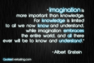 Inspiring Imagination Quote