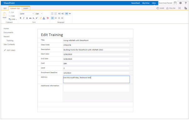 infopath with sharepoint 2013 how to pdf