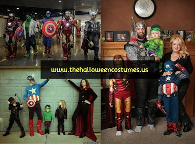 Avengers Halloween Costumes in 2016
