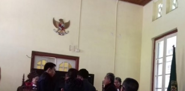 Usai Disidang, Wakil Ketua DPRD Bantaeng Hendak Kabur