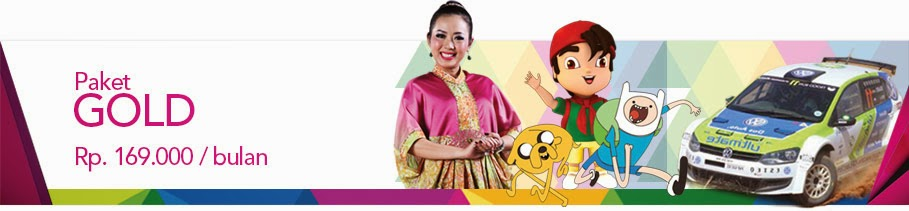 Daftar Channel Paket Gold Transvision