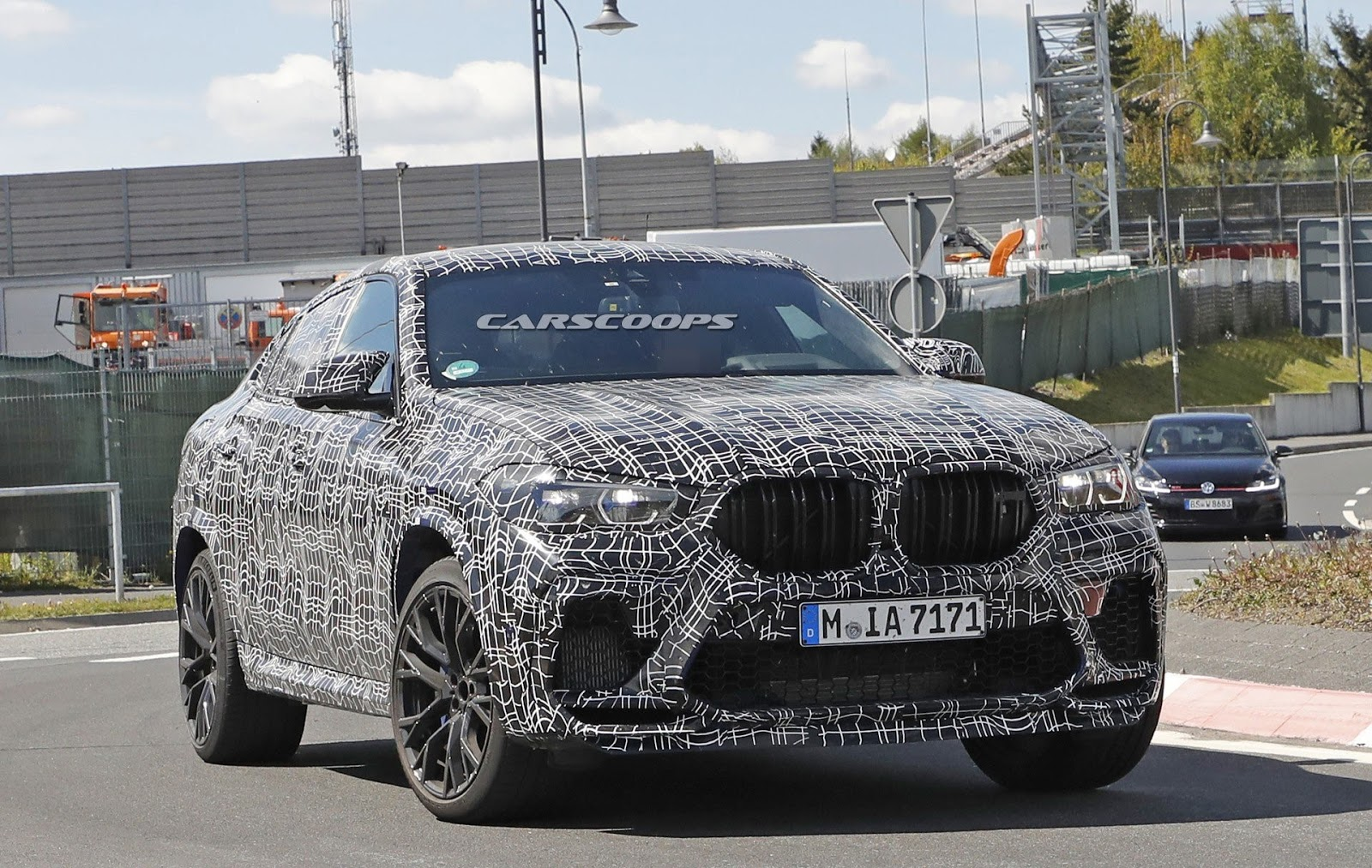 2020 Bmw X6 M Spy Shot Ms Blog