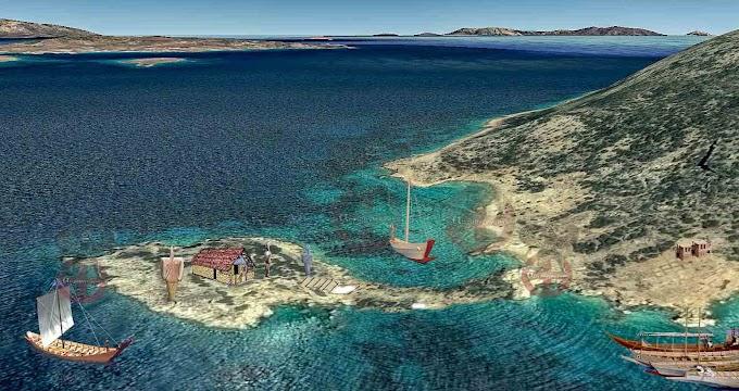 Κέρος: Κάβος Δασκαλιού  το πρώτο ναυτικό ιερό στον κόσμο.