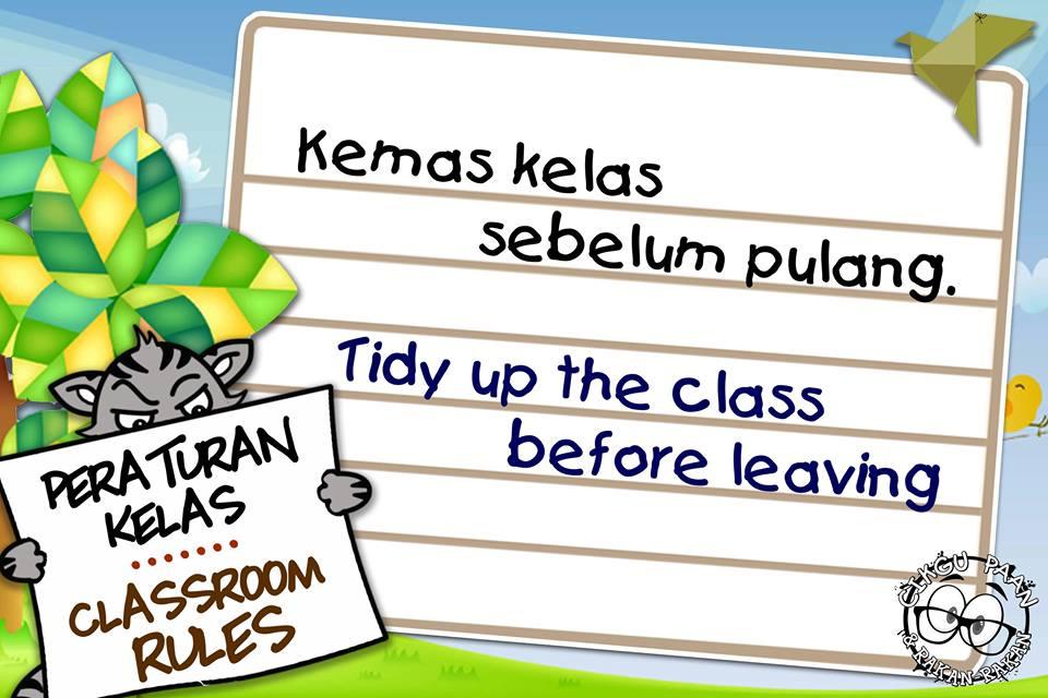 Peraturan Kelas By Cikgu Paan Koleksi Grafik Untuk Guru