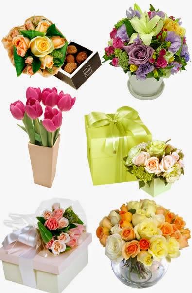Flores de presente