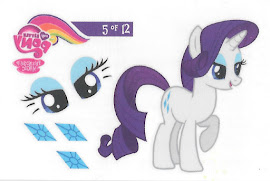 My Little Pony Tattoo Card 5 Series 3 Trading Card
