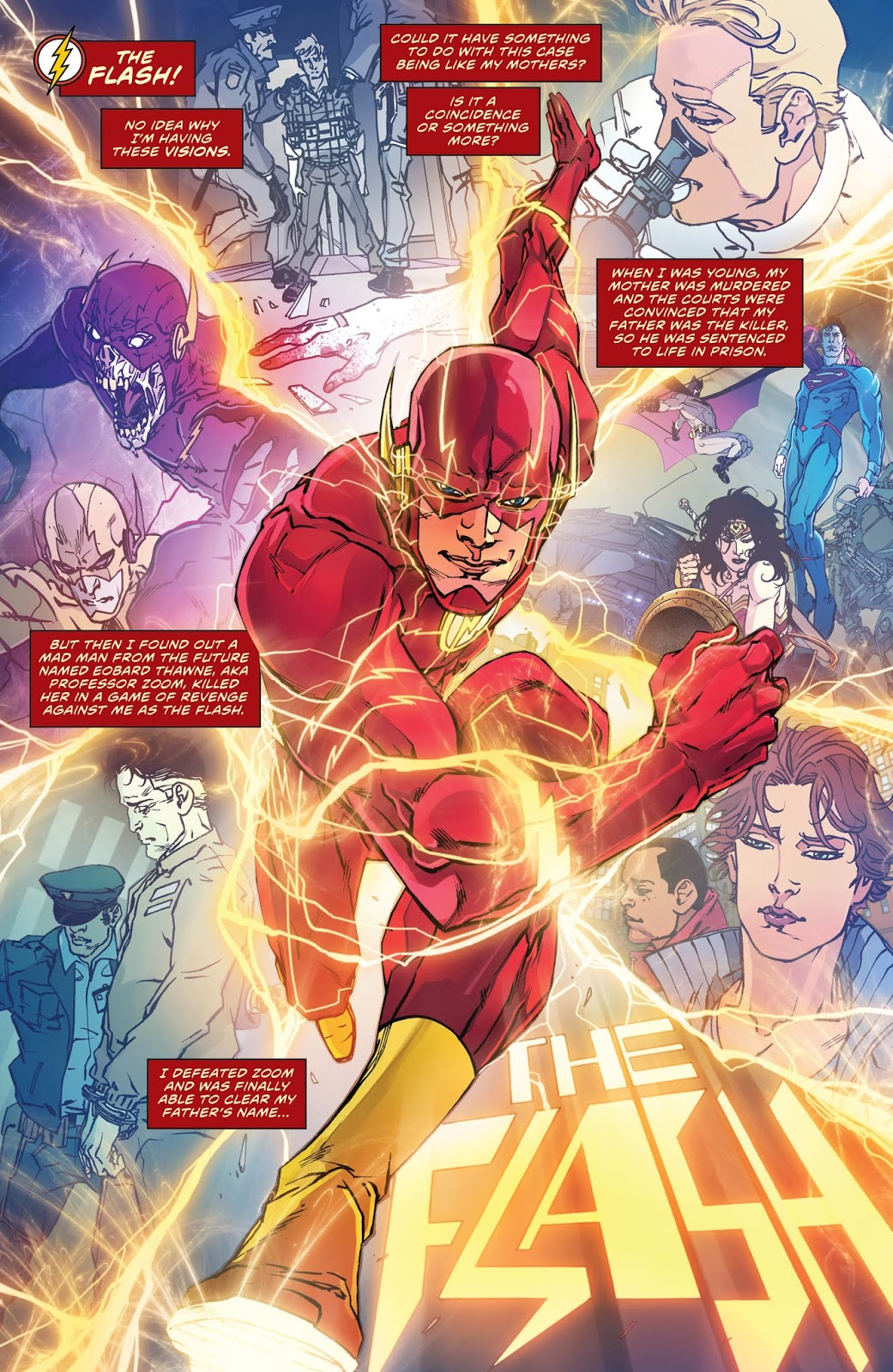 THE FLASH VOL. 1: LIGHTNING STRIKES TWICE