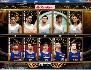 NBA 2K13 National Teams Fiba Mod