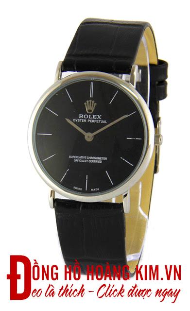 Đồng hồ nam dây da giá dưới 1 triệu rolex