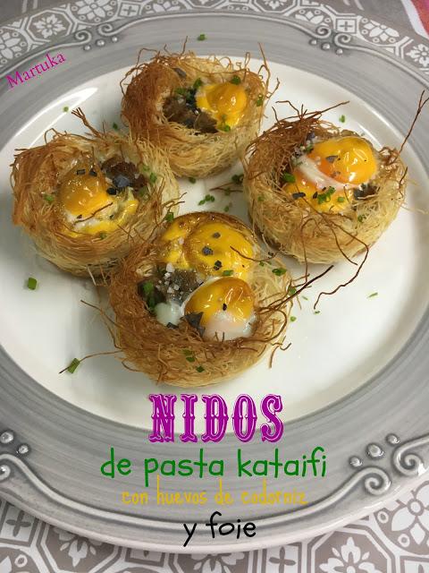 receta-de-nidos-de-pasta-kataifi-con-huevos-de-codorniz-y-foie