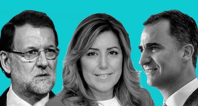 """El """"Susanato"""" del PSOE dispuesto a facilitar el Gobierno a Rajoy y salvar a la monarquía."""