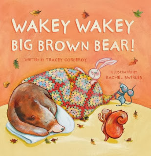 Wakey Wakey Big Brown Bear - Book Review