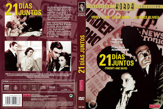 Caratula, dvd, cover: 21 días juntos | 1940 | 21 Days