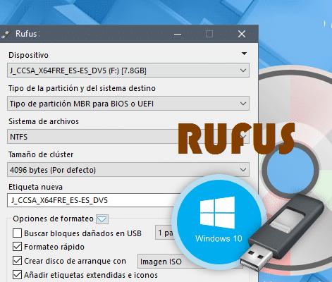 برنامج نسخ الويندوز على فلاشة Rufus احدث اصدار فولدر برامج