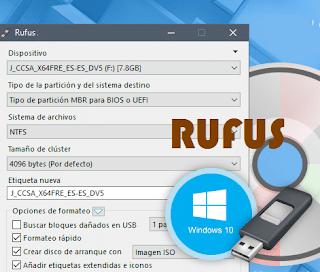 برنامج, Rufus, لنسخ, الويندوز, على, فلاشة, اخر, اصدار