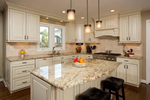 Golden garnet granite kitchen countertop ideas granite book for Kitchen ideas with yellow countertops