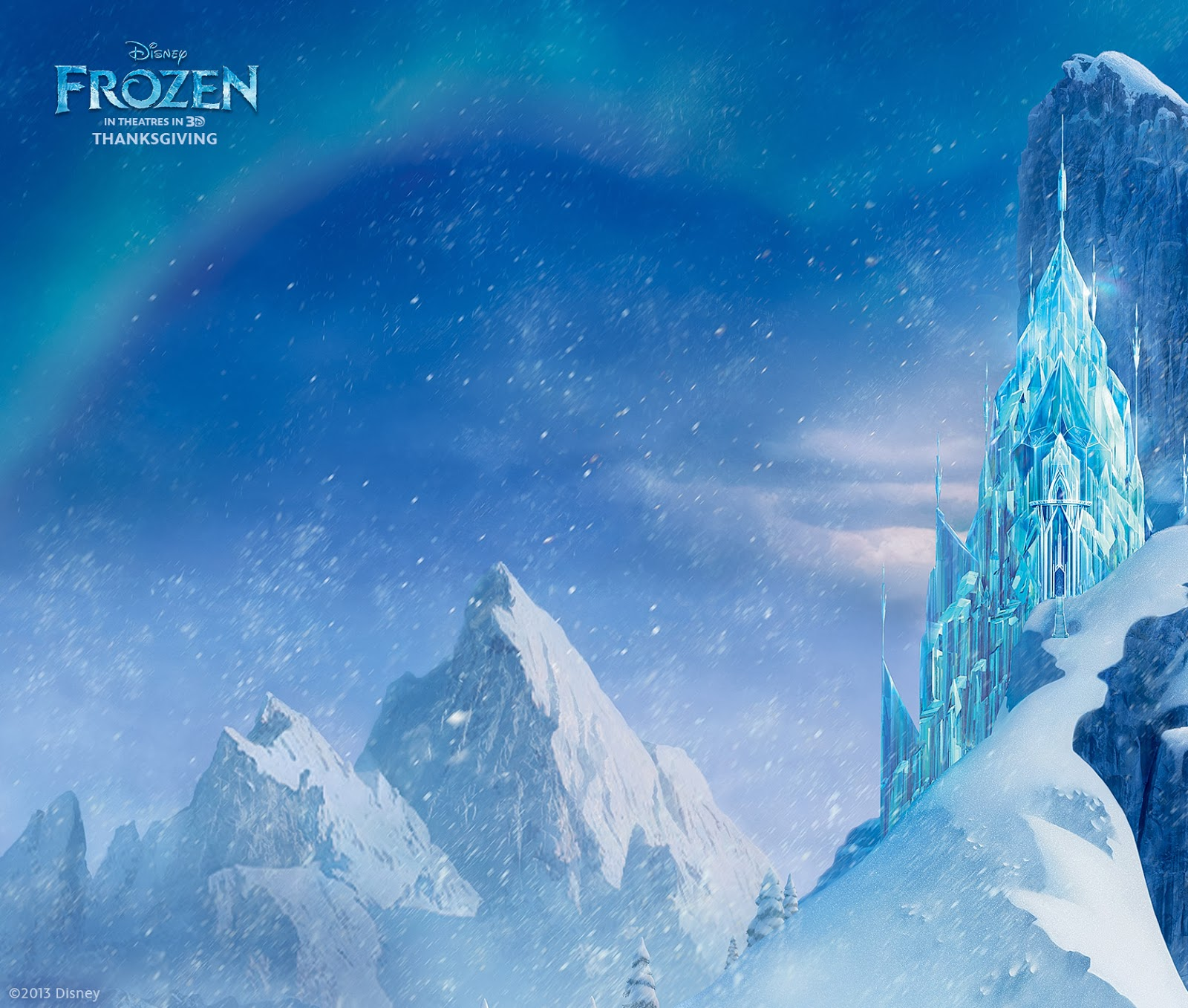 Frozen Ice Castle | Car Interior Design