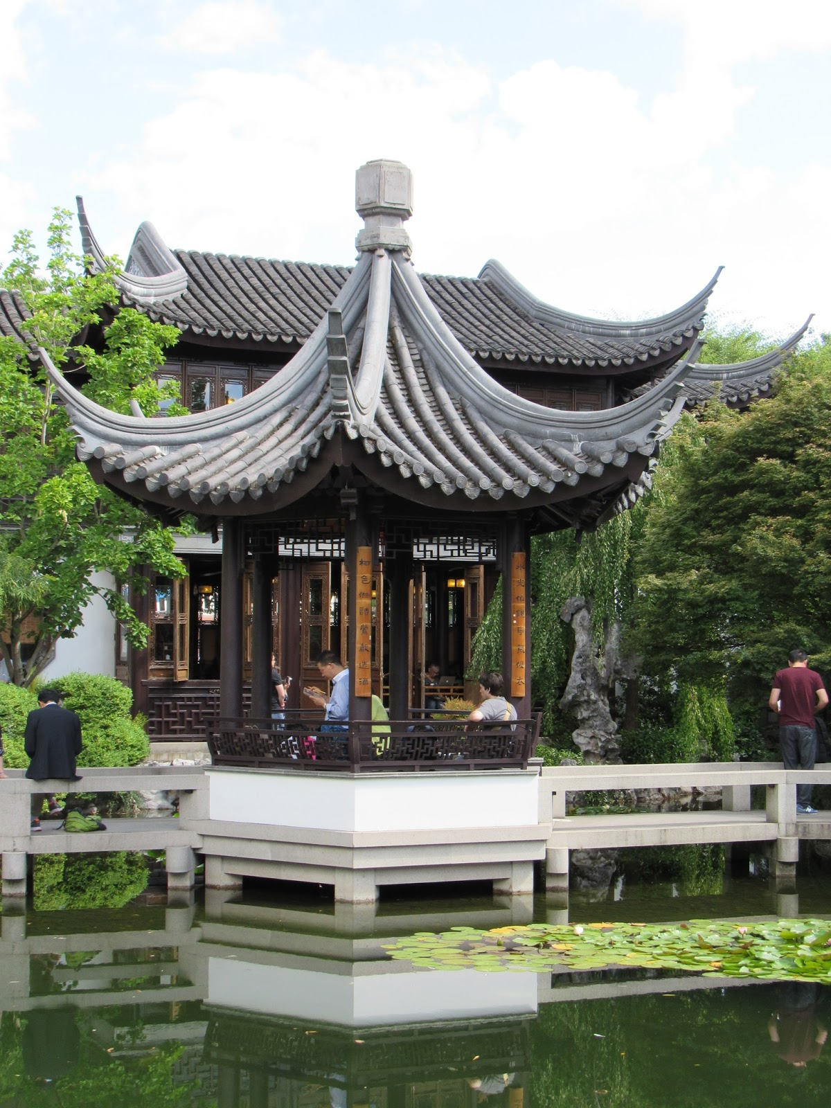 Chinese Garden A Photo From Guangdong South: Lan Su Chinese Garden, Portland