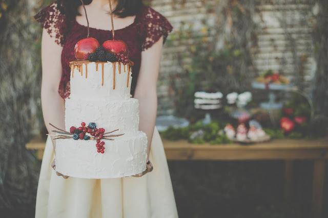 tarta de boda inspiracion Blancanieves - Snow white cake - Blog Mi Boda
