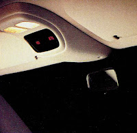 image in color of the interior of Matt Billmeier's 1995 Dodge Ram truck  highlighting the status meters