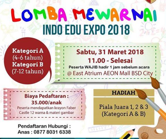 Info Lomba Mewarnai 2018 Hadiah Piala Info Lomba 2019 Kuis