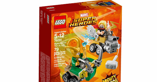 LEGO SET DATABASE LEGO 76091 Mighty Micros: Thor vs. Loki